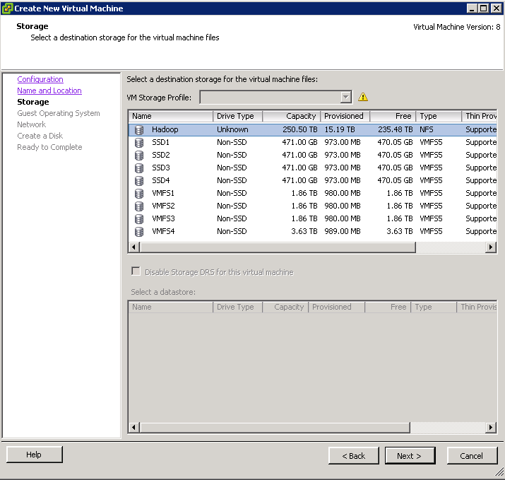 Create a Custom Template for VMware Big Data Extension - TheRuddyDuck